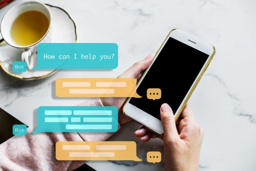Chat bot assistance